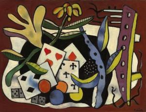 Le cinq de trèfle, Fernand Léger, 1947