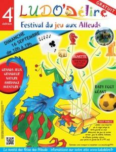 Ludo'délire 2012 - Festival du jeu aux Alleuds