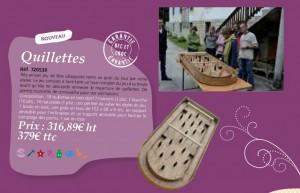 Quillettes - Catalogue Bec et Croc