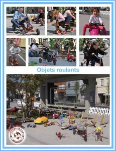 objets roulants