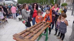 Clic-ball : vidéo lors de la fête du jeu à Roubaix 2014