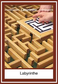 labyrinthe – un jeu où il faut être coopératif