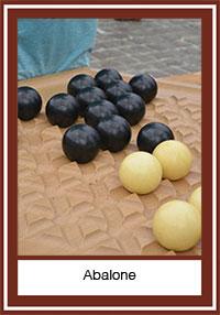 Le jeu d'abalone ou une partie de Sumo