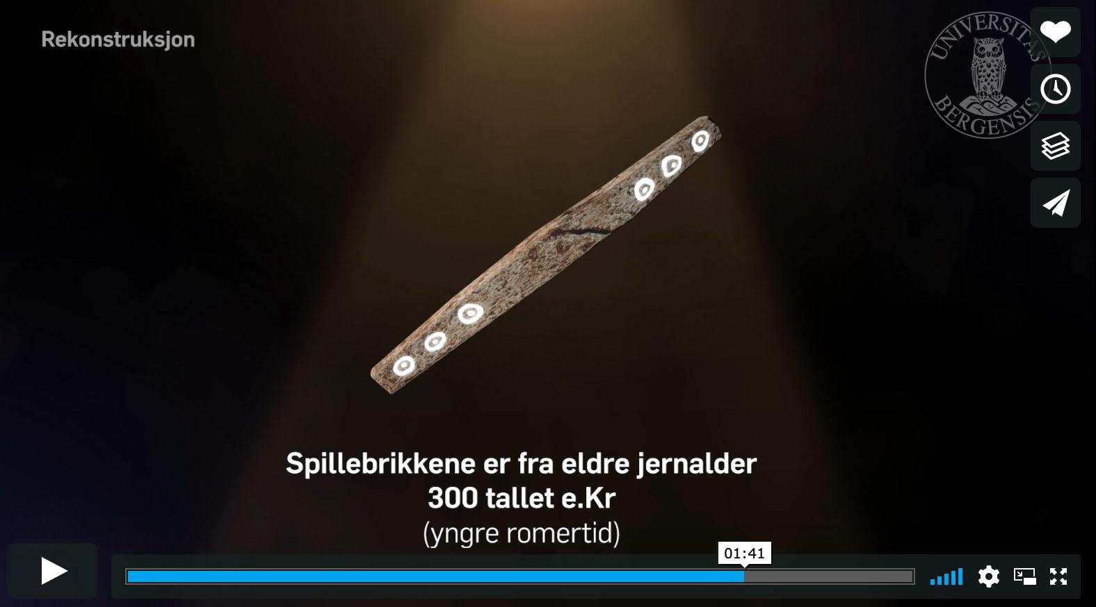 jeu de société vieux de 1 700 ans video