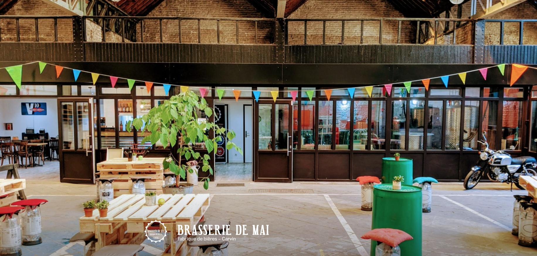 Bière & Jeux à la Brasserie de Mai