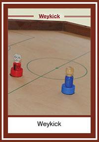 Weykick ou goal, le jeu de football