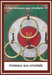 Anneaux aux crochets – 5 anneaux, 7 crochets