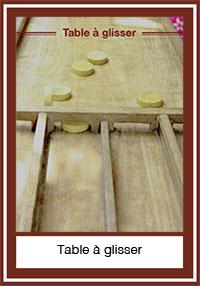 sjoelbak, la table à glisser, jakkolo…